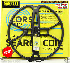 "New CORS FIRE 15""x15"" DD coil for Garrett ACE 150/250/350/200/300/400/Euro + acc"