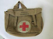 Britische Kampftasche Pack M37 Combat Bag Medical Corps 1942 WD Vintage Tasche