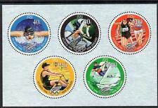 NUOVA Zelanda Gomma integra, non linguellato 1996 il 100th anniversario dei giochi olimpici M/S