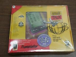 Vintage Small Talk Translator for Palm Pilot by Concept Kitchen - New and Sealed
