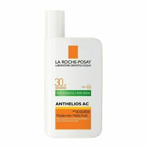 NEW La Roche Posay ANTHELIOS AC Anti-Shine Matt Fluid 30 SPF 50ml Expiry 02/2021