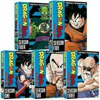 Dragon Ball DVD Complete Series All Season 1-5 TV DB Collection Episodes Volumes
