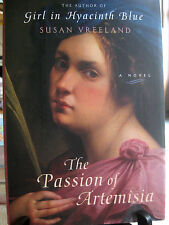 The Passion of Artemisia A Novel by Susan Vreeland 2002 Hardcover Fiction Jacket