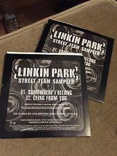 Linkin Park - Street Team Sampler - Somewhere I Belong - RARE CD