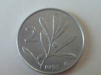 2 LIRE ULIVO 1953-1954-1955-1956-1957-1959 *FDC*