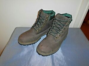 TIMBERLAND BROWN NUBUCK LEATHER LACE UP BOOTS EU 39 UK 5.5 SUPERB COND