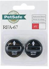 PetSafe Wireless 6 Volt Battery Replacement For Fence Receiver Bark Collar 2 Pcs