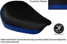 Royal blue & Negro Personalizado de vinilo cabe SUZUKI GZ 125 Marauder frente cubierta de asiento solamente