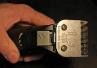 Clipper Blade Sharpening Wahl Andis Oster Scissors Hair Dog Horse Hairdressing