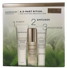 BIG SAVING!!!bareMinerals 3-part Ritual Kit -Normal to Combination Skin-$70VALUE