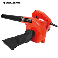 Toolman 5.0A 6 speed 13000RPM Corded Electric Leaf Blower Sweeper Vacuum Cleaner