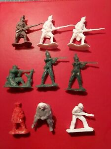 54mm Plastic Napoleonic Austrian And British Infantry