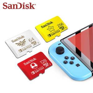 Official 64GB 128GB 256GB Micro SD Memory Card For NINTENDO Switch & Lite SDXC