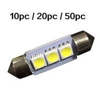 3LED 36mm 12/24V Car Interior Plate Festoon Dome License Light Map Lamp Bulb New