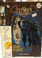 BATMAN LA LEGGENDA #57 - LEGAMI DI SANGUE - Ed. PLANETA DeAGOSTINI - SCONTO 40%