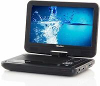 Bush 10 Inch Portable DVD Player - Black Inc Remote and Adapter.
