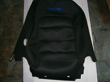 FORD FG XR ORIAN R/H FRONT SEAT UPRIGHT COVER BLACK-BLUE STICHING NEW GENUINE
