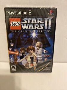 Lego Star Wars II The Original Trilogy (Playstation 2) Black Label (New, Sealed)