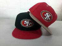 San Francisco 49ers Snap Back Cap Hat SF Embroidered Adjustable Flat Bill