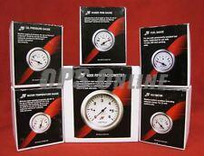 Mercury Inboard Analog Gauge Set Chrome - 6K Tach, temp, trim, volts, oil, fuel