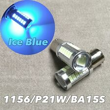 Front Turn Signal bulb 1156 BA15S 7506 3497 P21W ICE BLUE samsung SMD LED W1 JAE