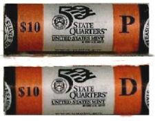 2006 R49 P&D NEBRASKA STATE QUARTER  ROLLS U. S. MINT WRAPPED-