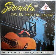 con el DUETO DE ANTANO Serenata LP Near-MINT COLOMBIA