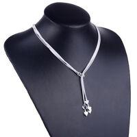 Damen Schmuck Herz Halskette Collier 5 Herzen 925 Silber Geschenk Valentinstag