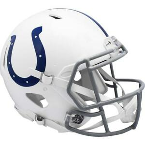 INDIANAPOLIS COLTS 2004-19 Riddell Throwback Authentic Football Helmet