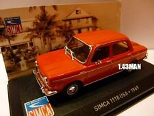 Voiture 1/43 IXO altaya SIMCA 1118 USA 1969 (1000)