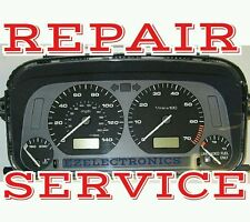 1993 TO 1997  Volkswagen Jetta Instrument Cluster Repair Service  Dashboard VW
