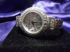 Woman's Geneva Silver Plated Watch **Nice** B16-Box1