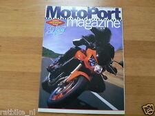 MOTOPORT 200204 SUZUKI GSX-R1000,SV1000,BARRY VENEMAN,GORE-TEX,TWO SEATER MAMOLA