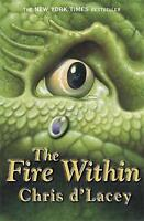 The Fire Within by Chris d'Lacey, Good Used Book (Paperback) FREE & FAST Deliver