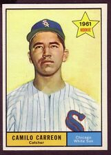 1961 TOPPS CAMILO CARREON CARD NO:509 HK12 NEAR MINT