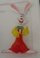 "Cool 1987 Disney Amblin Bendy Rubber Roger Rabbit Figurine 6"" Tall"