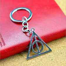 Fashion Harry Potter i doni della morte idea regalo unisex keychain  keyring