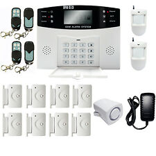 HD GSM 108 Zones Wireless&Wired Voice Home Alarm Security System LCD Auto Dialer