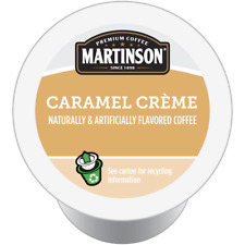 Martinson Coffee K CUPS for Keurig CARAMEL CREME 4 x 24 count (96 Total K-Cups)