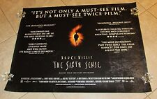 THE SIXTH SENSE movie poster BRUCE WILLIS< HALEY JOEL OSMENT