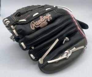 "Rawlings Women's 11.5"" Fast Pitch Leather Palm Softball Glove WFP115"