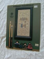 A HOUSE ESTABLISHED CROSS STITCH PATTERN CHART Amish Sampler Cross 'N Patch
