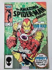 AMAZING SPIDER-MAN ANNUAL #20 (1986) 1ST APPEARANCE ARNO STARK IN REGULAR MARVEL