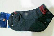 NFL New England Patriots Name on Blue Reebok Youth Ankle Socks Size 6-8 1/2