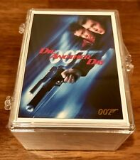 2017 James Bond Archives Final Edition Die Another Day GOLD set (83 cards)