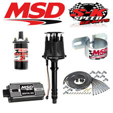 MSD BLACK 90013 Ignition Kit Digital 6AL/Distributor/Wires/Coil Big Block Chevy