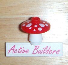 2x Lego Mushroom 41054 Disney Friends Garden Plant