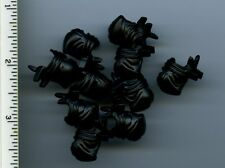LEGO x 10 Black Minifig, Headgear Ninja Wrap NEW Ninjago martial arts karate