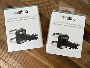 Netatmo Halterung für Netatmo Regenmesser oder Windmesser | 2 Halterungen