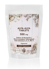 Alfalfa Herb 500mg 30/60/90/120/180/250/500/1000 Tablets UK